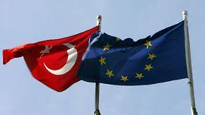 Druck bei Gesprächen in Brüssel: EU kann türkische Wirtschaft empfindlich treffen
