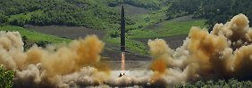 """Ins Herz der USA"": Nordkorea droht offen mit Atomangriff"
