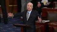 """Mit hauchdünner Mehrheit: US-Senat ebnet Abschaffung von """"Obamacare"""" den Weg"""