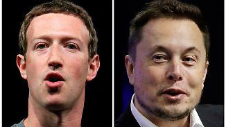"""""""Marks Verständnis ist begrenzt"""": Zuckerberg und Musk streiten über künstliche Intelligenz"""
