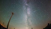 Nächstes Himmelsspektakel folgt: Jetzt kommen die Sternschnuppen