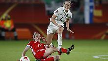 Lena Goeßling feierte gegen Russland ihr Comeback.