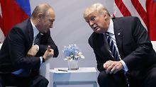 Wladimir Putin und Donald Trump werden immer mehr zu Rivalen auf dem Gas-Markt. Europa steht dazwischen.
