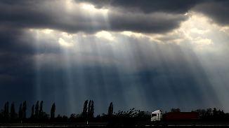 Weniger Regen, mehr Sonne: Langsam pirscht sich Warmluft heran