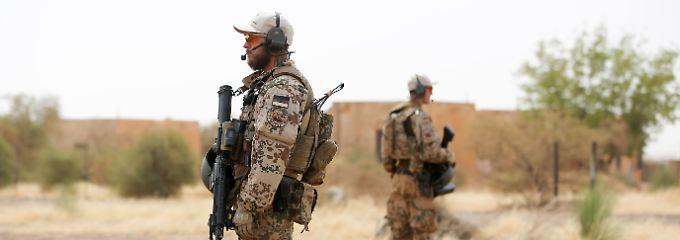 Der Einsatz in Mali gilt als der gefährlichste der Bundeswehr derzeit.
