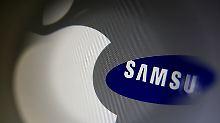 Samsung könnte erstmals seinen Erzrivalen Apple beim Gewinn überflügeln.