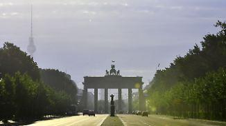 Geringes Regenrisiko: Sommer findet langsam den Weg zurück