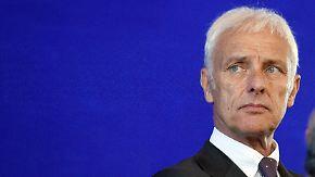 Gestartet als Hoffnungsträger: VW-Chef Müller gerät zunehmend unter Druck
