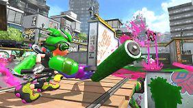 """""""Spatoon 2"""" ist eine wilde Farben-Schlacht."""