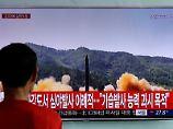 Nach Test in Nordkorea: Kim: Raketen erreichen US-Festland