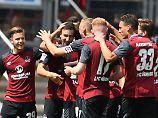 FCK wird einfach überrollt: Nürnberg legt Zweitliga-Traumstart hin