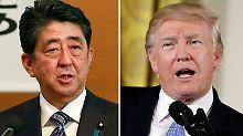 Aktionen gegen Nordkorea geplant: USA und Japan zeigen Geschlossenheit