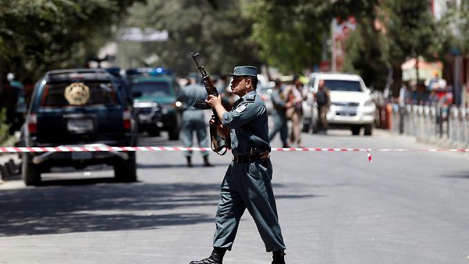 Kabul wird erneut von einem Anschlag erschüttert.