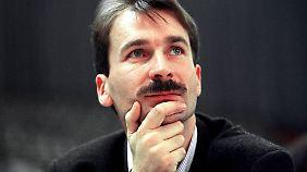 Ein Bild von 1994, dem Jahr, in dem Beck erstmals in den Bundestag einzog.