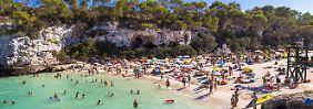 Sauf-Touristen und Müllberge: Mega-Urlauberboom strapaziert Mallorca