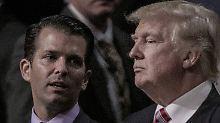Russland-Erklärung: Weißes Haus bestätigt: Trump half Junior