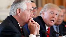 Atomabkommen mit dem Iran: Tillerson räumt Differenzen mit Trump ein