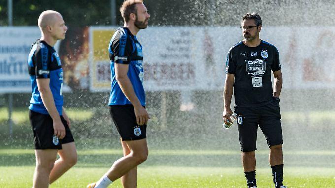 David Wagner und sein Team bereiten sich in Tirol auf die ersehnte erste Saison im englischen Fußball-Oberhaus vor.