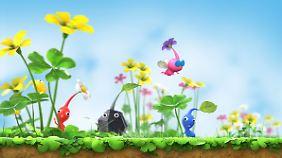 Pikmins sind zauberhafte kleine Pflanzenwesen.