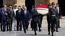 Heer, Marine und Luftwaffe: Türkei tauscht Militärspitze aus