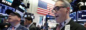 Schlusskurs über 22.000 Punkten: Apple zieht den Dow nach oben