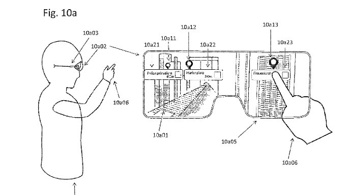 Mit einer AR-Brille auf der Nase können Nutzer das iPhone stecken lassen.