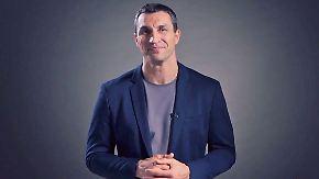 """Wladimir Klitschko zu Boxkarriere-Ende: """"Ich lade euch ein, mich auf neuer Reise zu begleiten"""""""