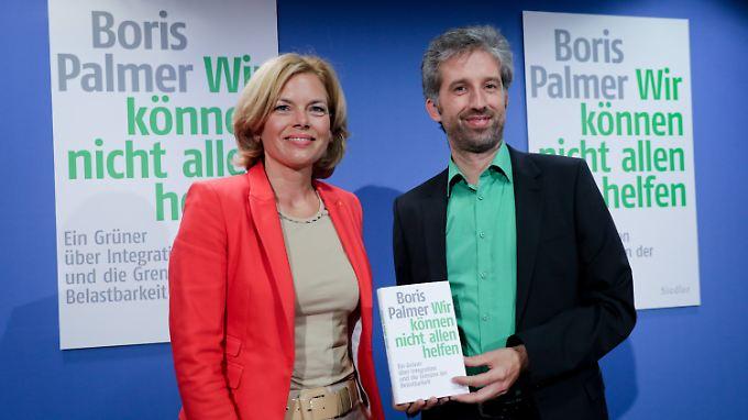 """Buch: """"Wir können nicht allen helfen"""": Grüner Boris Palmer provoziert mit Flüchtlingspolitik-Kritik"""