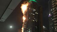 "Dubai in Rauch gehüllt: Der ""Fackel-Turm"" erlebt zweiten Großbrand"