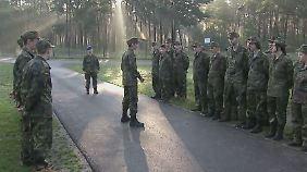 Schnupperwoche bei der Bundeswehr: Jugendliche testen das Leben als Soldat