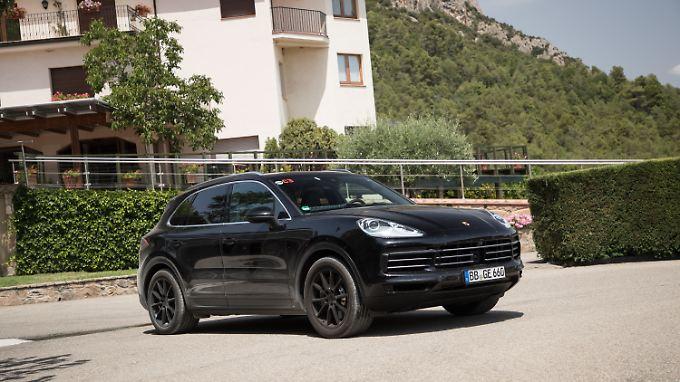 Der neue Porsche Cayenne teilt sich die Basis mit dem Audi Q7.