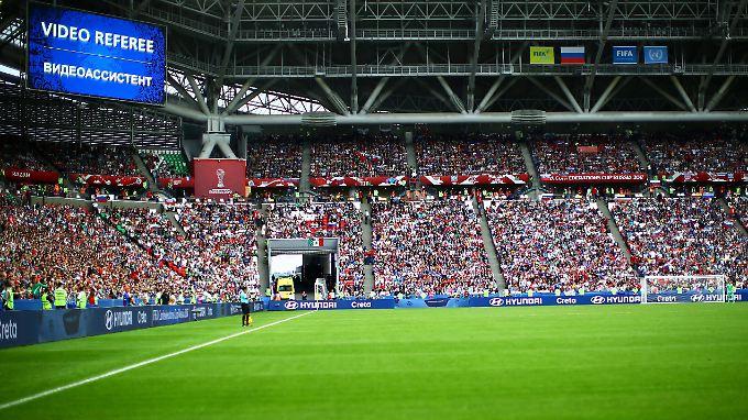 Beim Confederations Cup sorgte der Video-Asistent mitunter für Irritationen.