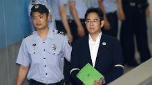 In Korruptionsskandal verwickelt: Samsung-Erbe: Zwölf Jahre Haft drohen