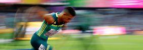 Unbekannte Legende van Niekerk: Der neue Bolt setzt auf die Kraft der Uroma