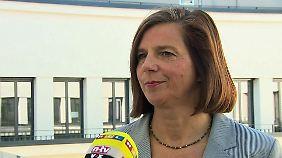"""Katrin Göring-Eckardt im Interview: """"Lindners Position zur Krim ist ein echtes Problem"""""""