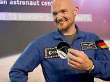 """Alexander Gerst startet mit der """"Horizons""""-Mission im April 2018 erneut ins All."""