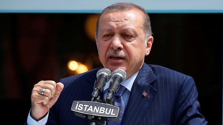 Präsident Recep Tayyip Erdogan sieht bessere Beziehungen zu Deutschland auf die Türkei zukommen.