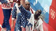 """""""Dream Team""""- zwei Wörter, die mehr repräsentieren als die amerikanische Mannschaft, die bei den Olympischen Sommerspielen in Barcelona überlegen Gold gewann."""