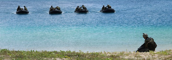 Reaktion auf markige Trump-Worte: Nordkorea droht mit Angriff auf US-Pazifikinsel Guam