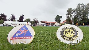 Mehr Pokalfeeling geht nicht: Rielasingen-Arlen fordert Dortmunder Weltstars