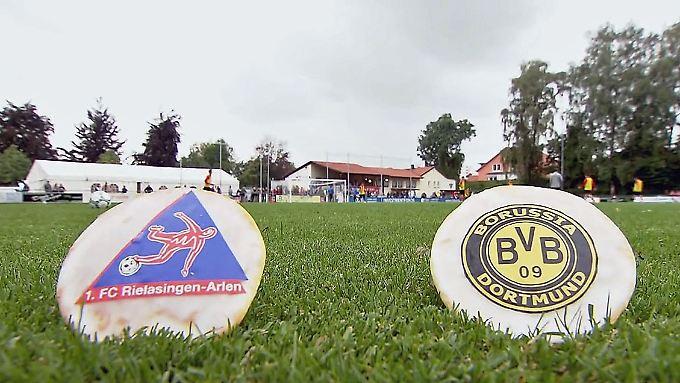 Für FR_Mehr Pokalfeeling geht nicht: Für FR_Rielasingen-Arlen fordert Dortmunder Weltstars