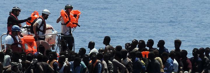 Viele Tote an Jemens Küste: Schmuggler werfen Flüchtlinge über Bord