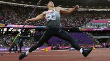 Johannes Vetter beeindruckte mit seinem starken Wurf über 91,20 Meter.