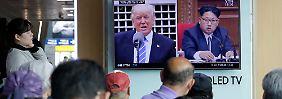 """US-Präsident in Angriffsmodus: Trump rät Kim, """"sehr, sehr nervös"""" zu werden"""
