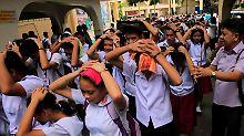 Epizentrum südlich von Manila: Erdbeben erschüttert Philippinen