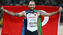 """""""Es war kein Schock für mich, es fühlte sich aber auch nicht real an"""": Ramil Guliyev."""