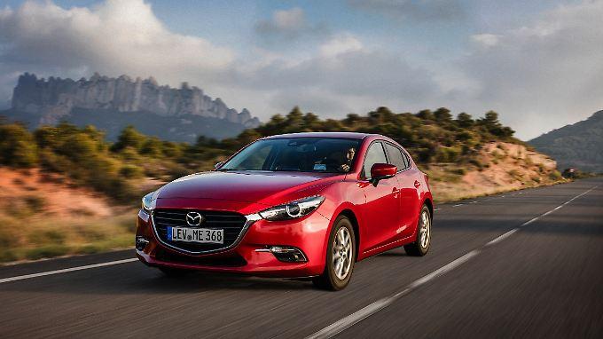 Der Mazda-Diesotto dürfte im Nachfolger des Mazda3 Premiere feiern.