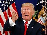 """Falls sich Kim unklug verhält"": Trump droht erneut mit Krieg"