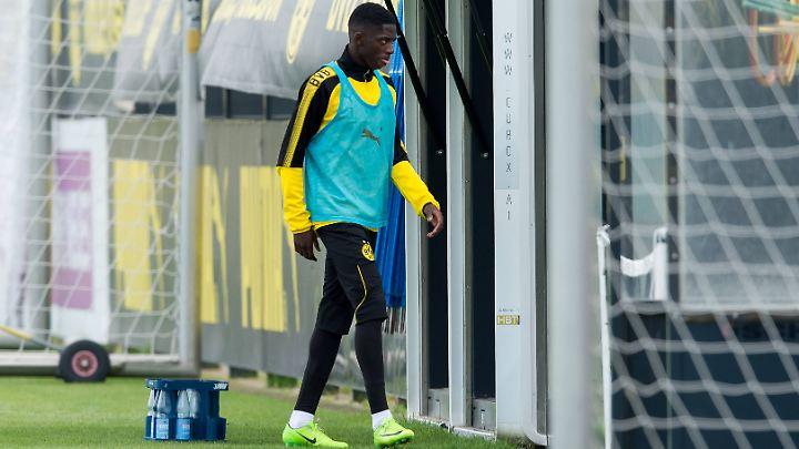 Dembélé will offenbar den Wechsel forcieren - eine Strategie, die meistens aufgeht.