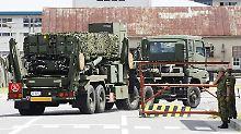 Wegen nordkoreanischer Bedrohung: Japan bringt Raketenabwehr in Stellung
